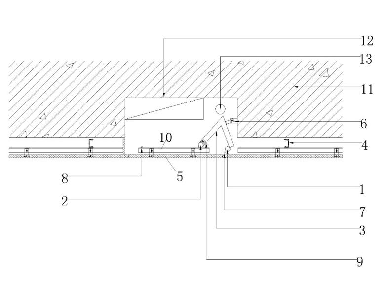 1 材料 隐藏式消火栓石材暗门主要由转轴,转轴连接件,限位装置,门扇